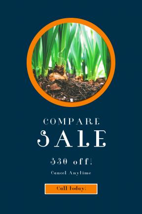 Portrait design template for sales - #banner #businnes #sales #CallToAction #salesbanner #circular #squares #weekend #easter #flower #leaves #bulb #shape #web