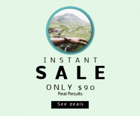 Square large web banner template for sales - #banner #businnes #sales #CallToAction #salesbanner #hill #road #waterfall #wrist #circles #lifestyle #scotland