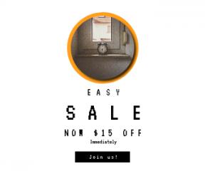 Square large web banner template for sales - #banner #businnes #sales #CallToAction #salesbanner #shelf #black #window #circle #circles #symbols