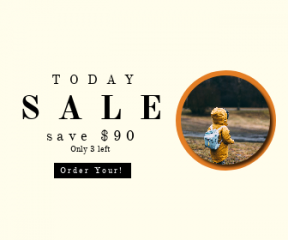 Square large web banner template for sales - #banner #businnes #sales #CallToAction #salesbanner #yellow #river #boy #day #tree #woodland