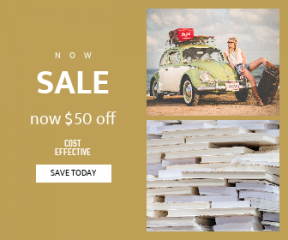 Square large web banner template for sales - #banner #businnes #sales #CallToAction #salesbanner #coca #sunglass #stacked #stack #vintage #page #surfboard #retro