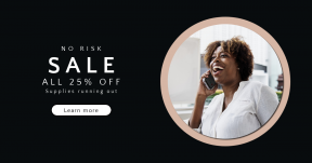 Card design template for sales - #banner #businnes #sales #CallToAction #salesbanner #innovation #afro #cellphone #american #happy #round #conversation #mobile #online