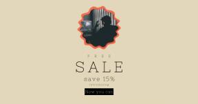 Card design template for sales - #banner #businnes #sales #CallToAction #salesbanner #rough #editing #scalloped #computer #desk #circles #frame #wavy