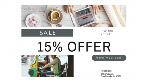 FullHD image template for sales - #banner #businnes #sales #CallToAction #salesbanner #city #flatlay #table #creative #packages #business