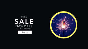 FullHD image template for sales - #banner #businnes #sales #CallToAction #salesbanner #wallpaper #spark #party #birthday #candle #background #burning #visual #purple