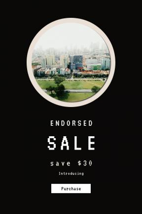 Portrait design template for sales - #banner #businnes #sales #CallToAction #salesbanner #mist #apartment #down #park #fog #tree #tower #building #greenspace #city