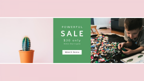 FullHD image template for sales - #banner #businnes #sales #CallToAction #salesbanner #colorful #childhood #cactu #lego #plant #cacti #thorn #kid