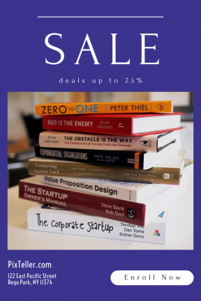 Portrait design template for sales - #banner #businnes #sales #CallToAction #salesbanner #study #entrepreneur #proposition #circular #symbol #literature #stack #geometrical #university