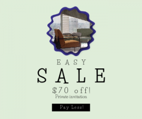 Square large web banner template for sales - #banner #businnes #sales #CallToAction #salesbanner #cushion #background #jagged #modern #circles #apartment #city #scalloped #frames