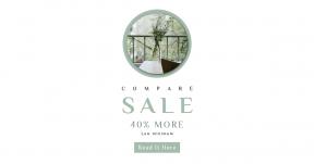 Card design template for sales - #banner #businnes #sales #CallToAction #salesbanner #tree #plant #architecture #window #interior #property #estate