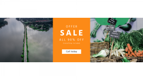 FullHD image template for sales - #banner #businnes #sales #CallToAction #salesbanner #sale #price #dubai #fresh #herb #village #market #green #bunch #house