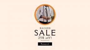 FullHD image template for sales - #banner #businnes #sales #CallToAction #salesbanner #model #suit #professional #blazer #black #woman