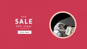 FullHD image template for sales - #banner #businnes #sales #CallToAction #salesbanner #astronaut #space #station #engineering #satellite #aerospace #spacecraft