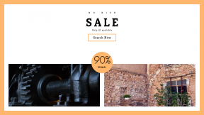 FullHD image template for sales - #banner #businnes #sales #CallToAction #salesbanner #cotta #brick #window #stone #rotate #chair