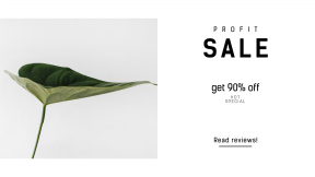 FullHD image template for sales - #banner #businnes #sales #CallToAction #salesbanner #white #beautiful #plant #decoration #greenery