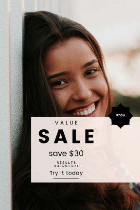 Portrait design template for sales - #banner #businnes #sales #CallToAction #salesbanner #clouds #ragged #shape #forest #college #brunette #outdoor #bg #rounded #frame