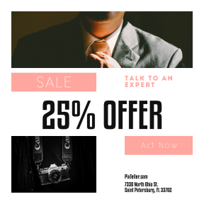 Image design template for sales - #banner #businnes #sales #CallToAction #salesbanner #tie #vingette #yellow #human #canon #tuxedo #photographic