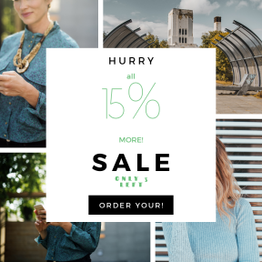 Image design template for sales - #banner #businnes #sales #CallToAction #salesbanner #interaction #clothe #internet #communication #urbex #woman #telecommunication #online #brunette #smiling