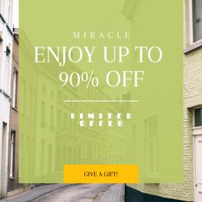 Image design template for sales - #banner #businnes #sales #CallToAction #salesbanner #narrow #pavement #belgium #curb #house #building #urban #architecture #street #window