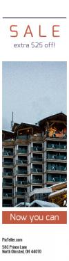 Skyscraper wide web banner template for sales - #banner #businnes #sales #CallToAction #salesbanner #architecture #fog #cloud #chamonix #alps #woodland