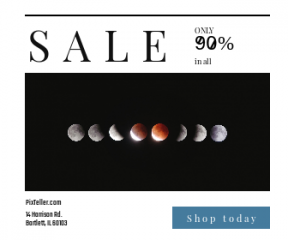Square large web banner template for sales - #banner #businnes #sales #CallToAction #salesbanner #astronomy #geometric #blood #exposure #moon #sequence #lunar #brasil