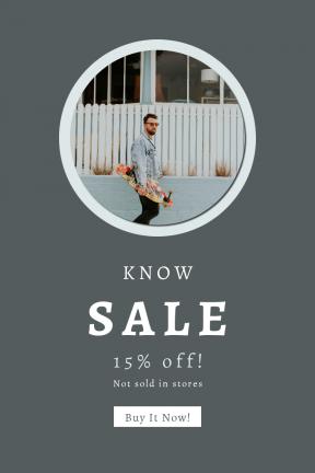 Portrait design template for sales - #banner #businnes #sales #CallToAction #salesbanner #sunglasses #red #skateboard #fashion #walk #male #sunglass #wall #man #sneaker