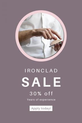 Portrait design template for sales - #banner #businnes #sales #CallToAction #salesbanner #working #office #work #clean #shirt #circle #medic #holding #man #circles