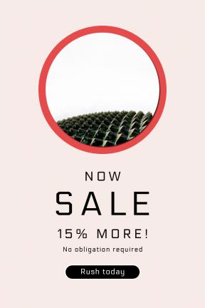 Portrait design template for sales - #banner #businnes #sales #CallToAction #salesbanner #pattern #bright #architecture #southern #price #button #shape