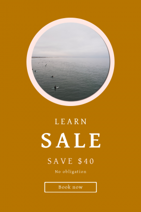 Portrait design template for sales - #banner #businnes #sales #CallToAction #salesbanner #water #coast #shape #geometrical #circle #surf #geometric