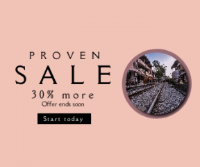Square large web banner template for sales - #banner #businnes #sales #CallToAction #salesbanner #rail #track #rock #railway #railroad #asian