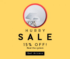 Square large web banner template for sales - #banner #businnes #sales #CallToAction #salesbanner #interior #pro #shoot #computer #photo #mac #apple