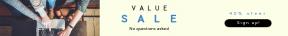 Leaderboard web banner template for sales - #banner #businnes #sales #CallToAction #salesbanner #shape #bracket #desk #shapes #table #screen #macbook #label #activity
