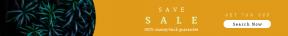 Leaderboard web banner template for sales - #banner #businnes #sales #CallToAction #salesbanner #pine #shape #fir #shadow #ecology #shapes