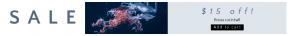 Leaderboard web banner template for sales - #banner #businnes #sales #CallToAction #salesbanner #marine #computer #biology #jellyfish #wallpaper #invertebrates