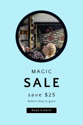Portrait design template for sales - #banner #businnes #sales #CallToAction #salesbanner #bright #tradition #lady #computer #tea #control #pot