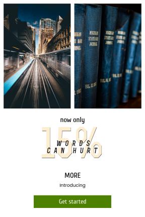 Portrait design template for sales - #banner #businnes #sales #CallToAction #salesbanner #track #tren #blur #chicago #ciudad #spine #speed #lumix #bokeh #station