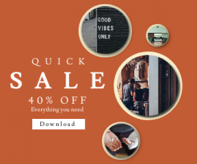 Square large web banner template for sales - #banner #businnes #sales #CallToAction #salesbanner #chair #medical #quote #good #real #board #splint