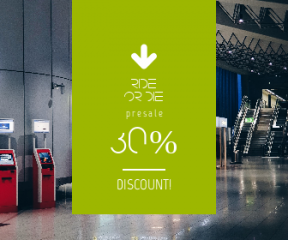 Square large web banner template for sales - #banner #businnes #sales #CallToAction #salesbanner #travel #empty #arrows #booth #ground #pointing