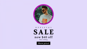 FullHD image template for sales - #banner #businnes #sales #CallToAction #salesbanner #shape #bearded #tee #pose #sunglasses #forest #shapes #male