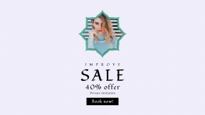 FullHD image template for sales - #banner #businnes #sales #CallToAction #salesbanner #hair #corners #caucasian #label #rectangles #clothe #neck #clouds