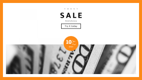 FullHD image template for sales - #banner #businnes #sales #CallToAction #salesbanner #canon100mm2.8lmacro #cash #hundred #money #buck #b&w #canon #100