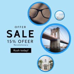 Image design template for sales - #banner #businnes #sales #CallToAction #salesbanner #print #sky #bridge #clear #dusk #building
