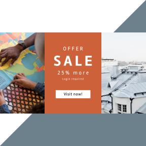Image design template for sales - #banner #businnes #sales #CallToAction #salesbanner #states #suomi #sticker #finnish #scandinavium #sky #student #rooftop #roof