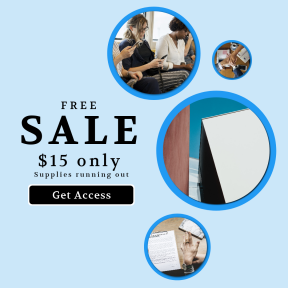 Image design template for sales - #banner #businnes #sales #CallToAction #salesbanner #flat #caucasian #contract #modern #sign #tanned #train #office