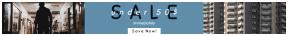 Leaderboard web banner template for sales - #banner #businnes #sales #CallToAction #salesbanner #dark #of #grey #hallway #music #exterior
