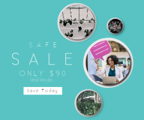 Square large web banner template for sales - #banner #businnes #sales #CallToAction #salesbanner #bubble #the #garden #windows #social #communication #communicate #eating
