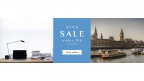 FullHD image template for sales - #banner #businnes #sales #CallToAction #salesbanner #work #working #desk #uk #black #laptop #london #big #for