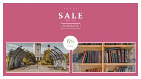FullHD image template for sales - #banner #businnes #sales #CallToAction #salesbanner #book #shelf #vintage #old #store #chimney #reading #street