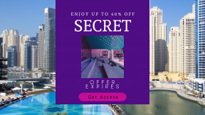 FullHD image template for sales - #banner #businnes #sales #CallToAction #salesbanner #blue #travel #sunbed #corners #reading #boxes