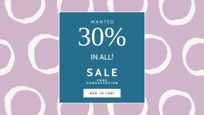 FullHD image template for sales - #banner #businnes #sales #CallToAction #salesbanner #text #circle #lilac #pink #product #pattern #line
